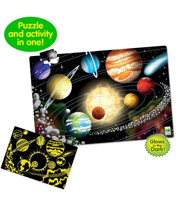 Puzzle Doubles - Glow In The Dark - Space
