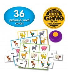 Match It! - Listen & Play Bingo - Farm