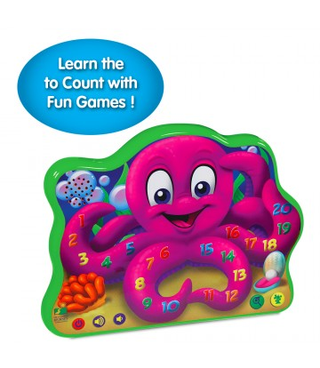 Touch & Learn Series - Count & Learn Octopus