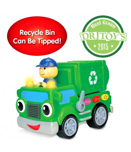 On the Go Recycle Truck
