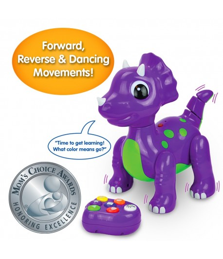 Remote Control Colors & Shapes Dancing Dino