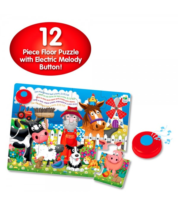 My First Sing Along Puzzle! - Old MacDonald's Farm