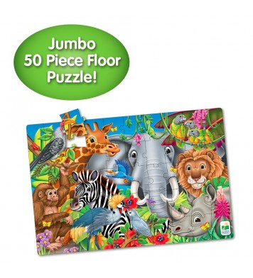 Jumbo Floor Puzzle - Animals of the World