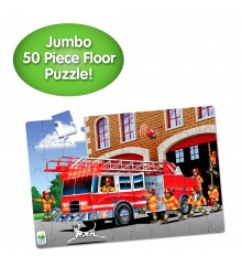 Jumbo Floor Puzzles  - Fire Engine Rescue