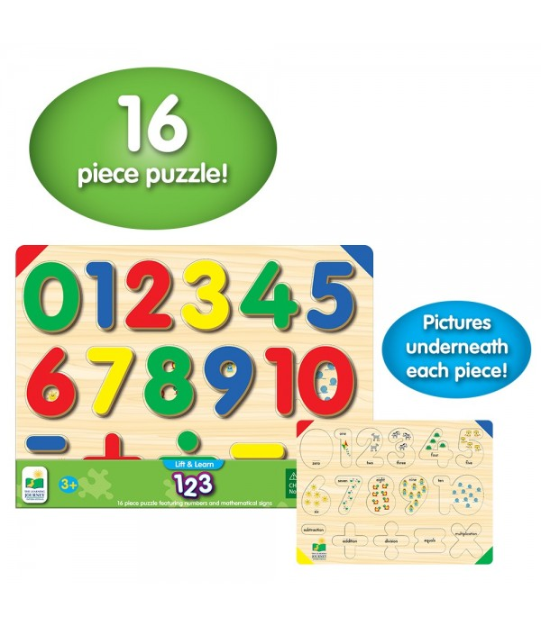 Lift & Learn 123 Number Puzzle