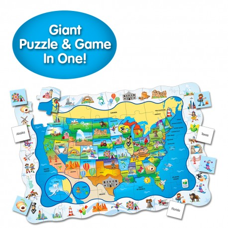 Puzzle Doubles - Find It! USA