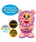 Telly The Teaching Time Clock (PINK COLOR DESIGN!)