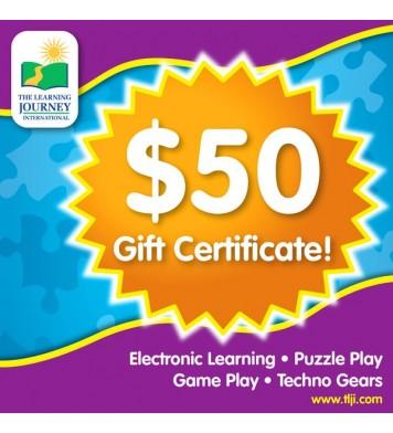 50 TLJI Gift Certificate