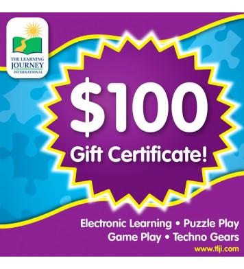 100 TLJI Gift Certificate
