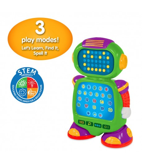 Touch & Learn - NumberBot