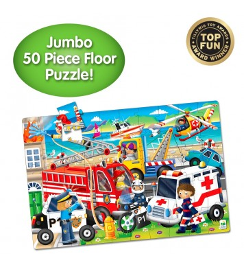 Jumbo Floor Puzzle Emergency Rescue