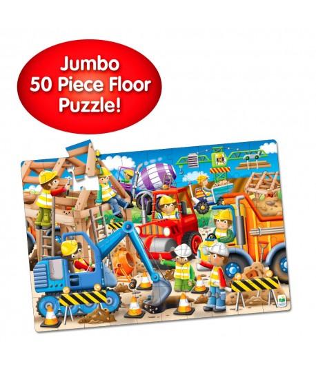 Jumbo Floor Puzzle Construction