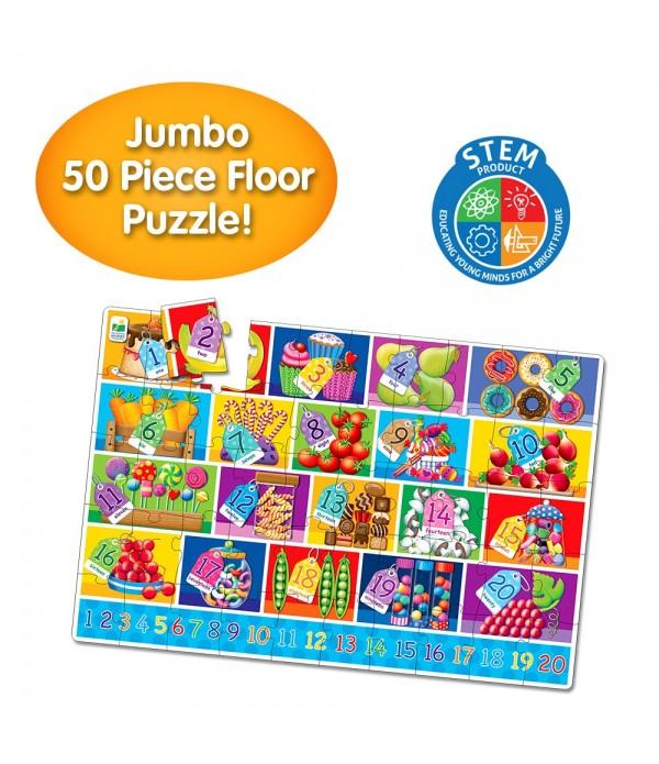 Jumbo Floor Puzzles  - Numbers