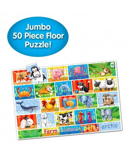 Jumbo Floor Puzzles  - Animals