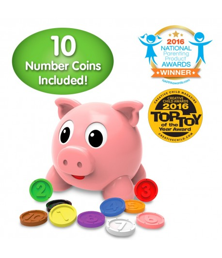 Numbers and Colors Pig E Bank