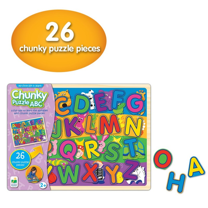 My First Chunky Lift & Learn ABC Puzzle