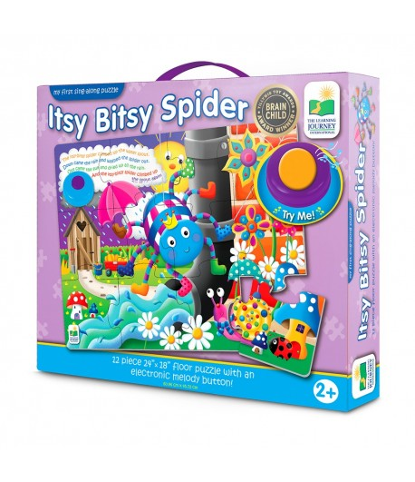 My First Sing Along Puzzle! - Itsy Bitsy Spider