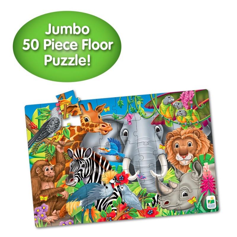 Jumbo Floor Puzzle - Animals of the World