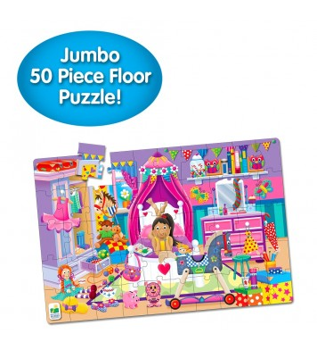 Jumbo Floor Puzzle - In My Room
