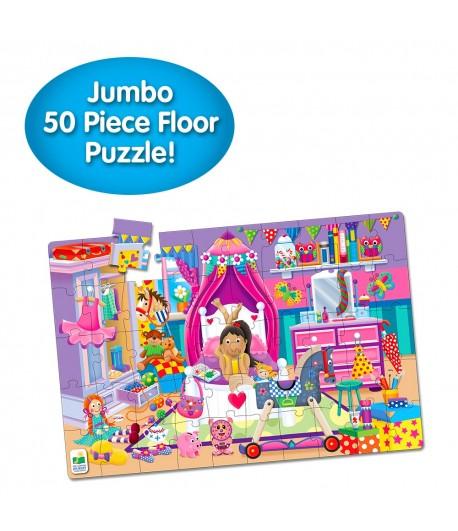 Jumbo Floor Puzzle - In My Room