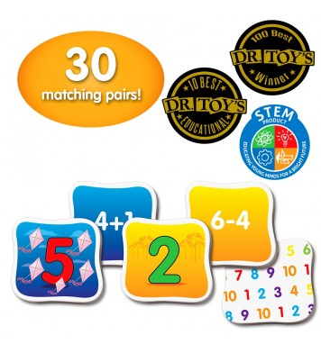 Match It! Memory - Mathematics