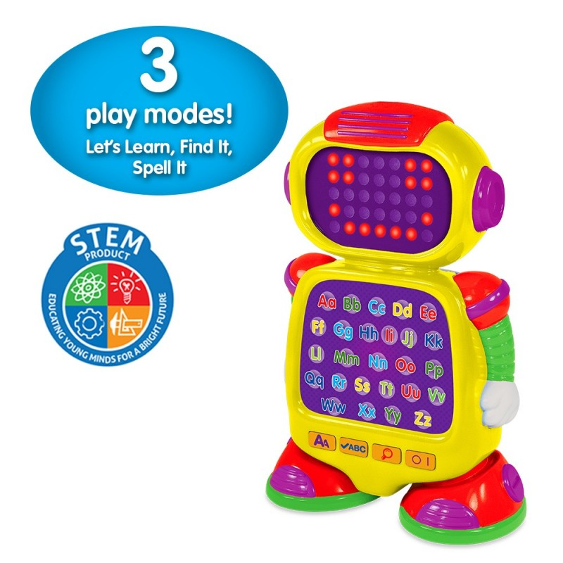 Touch & Learn - Phonics Bot
