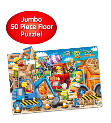 Jumbo Floor Puzzle Construction