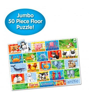 Jumbo Floor Puzzles  - Animals
