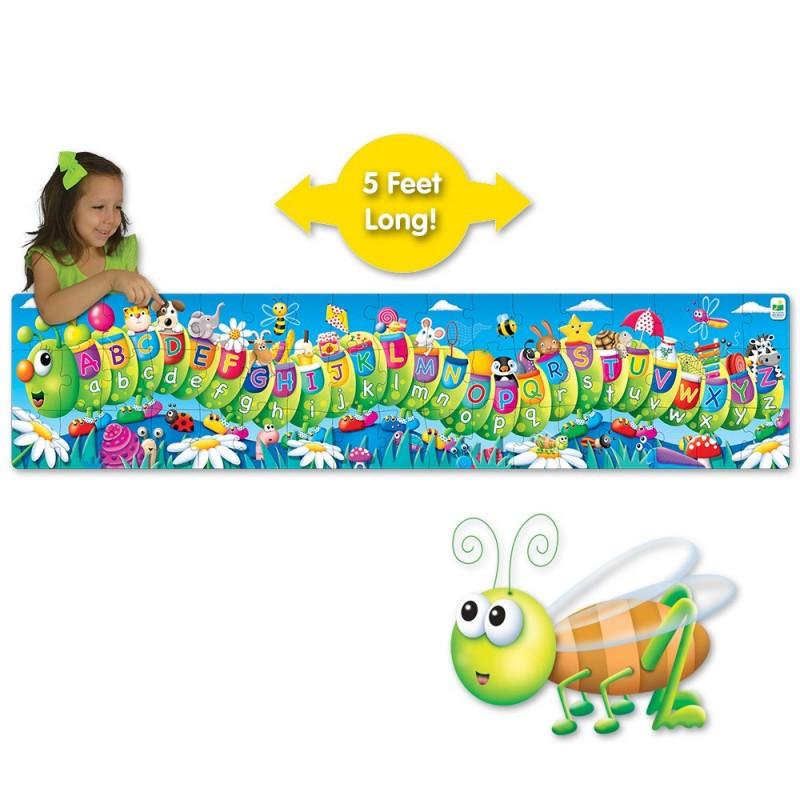 Long & Tall Puzzle - ABC Caterpillar