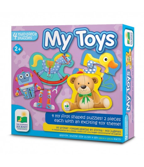 My First Puzzle Sets  4-In-A-Box Puzzles - 123