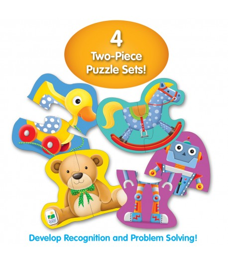 My First Shaped Puzzles My Toys