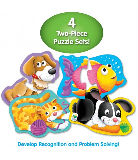 My First Shaped Puzzles - Pets