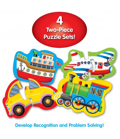 My First Shaped Puzzles Things That Go