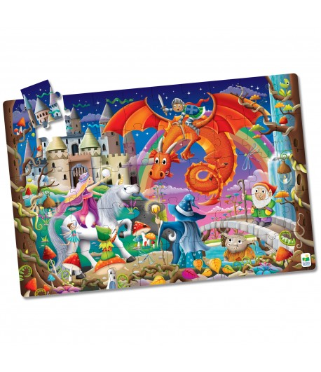 Puzzle Doubles - Glow In The Dark - Fantasy