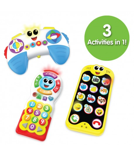 On The Go 3 Pack Set (Phone, Remote, Controller)