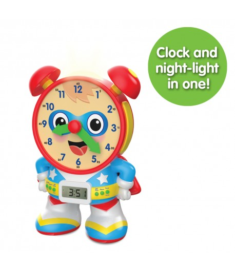 Super Telly Teaching Time Clock (Primary Version)