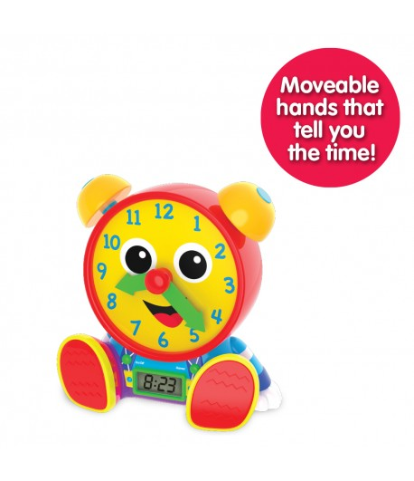 Telly Jr. Teaching Time Clock (Primary Version)