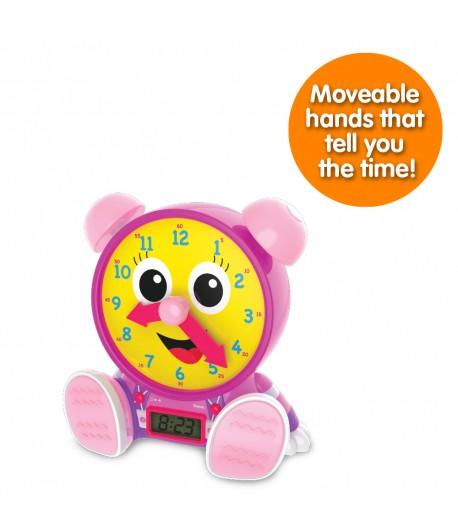 Telly Jr. Teaching Time Clock (Pink Version)