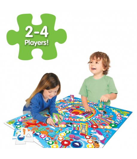 Play It! Colors & Shapes Race to the Rainbow