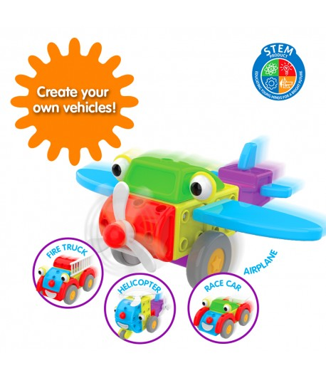 Techno Kids 4 in 1 Construction Set On The Go
