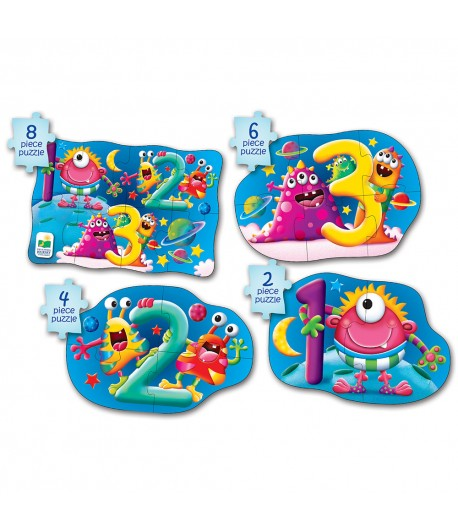 My First Puzzle Sets 4-In-A-Box Puzzles 123