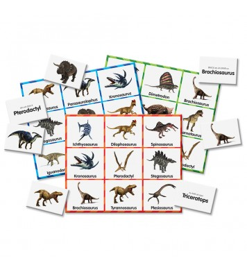 Match It! Dinosaur Bingo