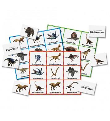 Match It! Dinosaur Bingo