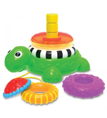 Pull Along Stacking Turtle