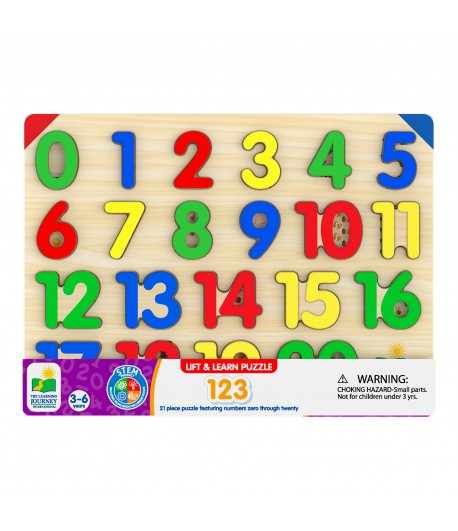 Lift & Learn 123 Number Puzzle (Redesigned)