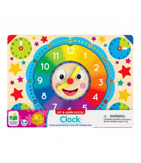 Lift & Learn Clock