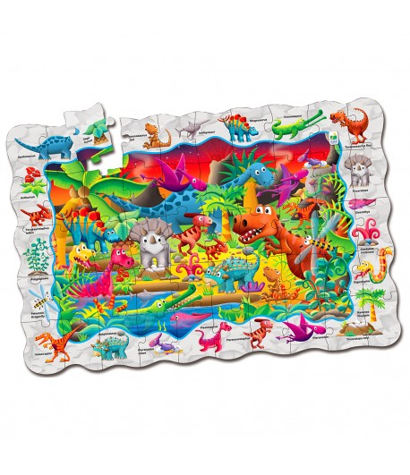 Puzzle Doubles! Find It! Dinosaurs